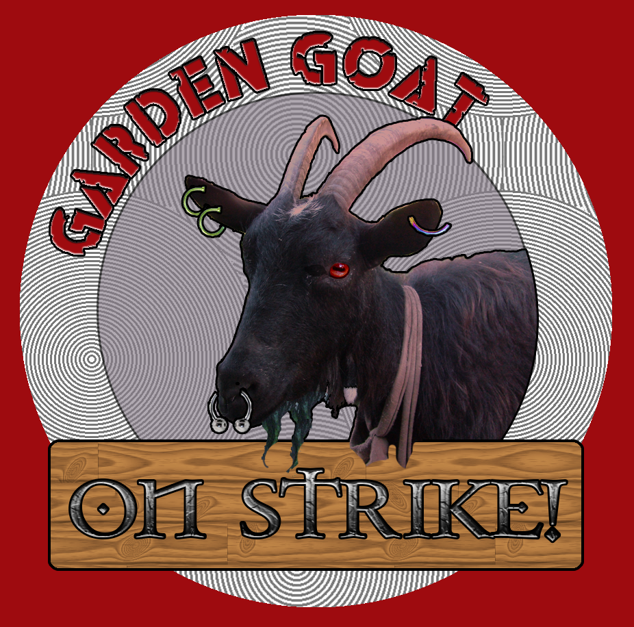 Garden Goat Album Art – On Strike